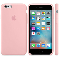 Coque Apple en silicone pour iPhone 6/6s - Rose