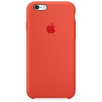 Coque Apple en silicone pour iPhone 6/6s - Orange