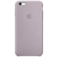 Coque Apple en silicone pour iPhone 6/6s - Lavande