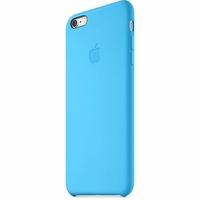 Coque Apple en silicone pour iPhone 6/6s - Bleu