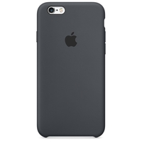 Coque Apple en silicone pour iPhone 6/6s - Grey
