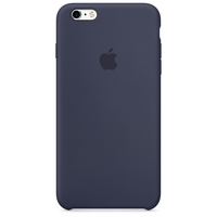 Coque Apple en silicone pour iPhone 6 Plus/6s Plus - Midnight