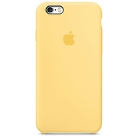 Coque Apple en silicone pour iPhone 6 Plus/6s Plus - Jaune