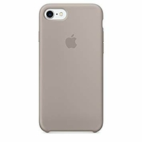 Coque Apple en silicone pour iPhone 8 / 7 - Pebble