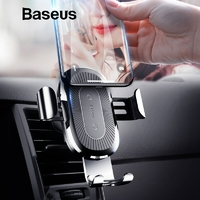 BASEUS GRAVITY Support/Chargeur Qi Voiture (10W)