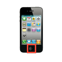 Remplacement Bouton Home Iphone 4S