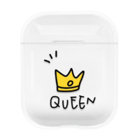 "Coque AirPods ""Queen"""