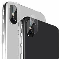 USAMS Antichoc Caméra iPhone X/XS (x2)