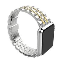 Bracelet en céramique or argent pour Apple Watch 42/44mm