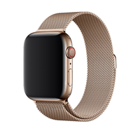 Bracelet en metal or pour Apple Watch 42/44mm