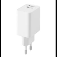 Secteur FAIRPLAY VENEZIA Chargeur 2 USB (Blanc)