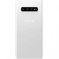 Remplacement vitre arrière Samsung Galaxy S10+ G975F blanche