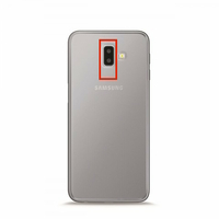 Remplacement lentille caméra arrière Samsung Galaxy J6+ 2018 J610F
