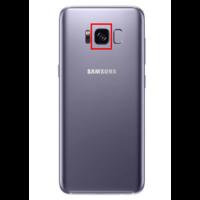 Remplacement lentille caméra arrière Samsung Galaxy S8+ G950F