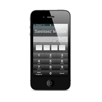 Enlever code sécurité Iphone 4