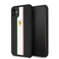 Coque Ferrari silicone noir iPhone 11