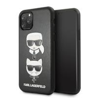 Coque Karl Lagerfeld cuir noir iPhone 11 Pro