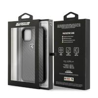Coque Ferrari en fibre de carbone iPhone 11