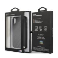 Coque Bmw bi-matiere noir iPhone XR