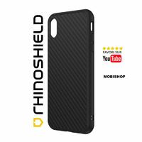 Coque Rhinoshield Solidsuit fibre de carbone iPhone XR