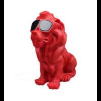 Enceinte Bluetooth Lion rouge