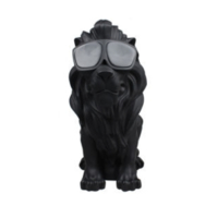 Enceinte Bluetooth Lion noir