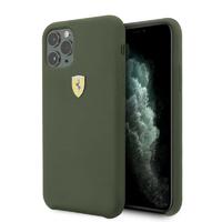 Coque Ferrari silicone kaki iPhone 11 Pro