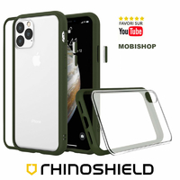 Coque Rhinoshield Modulaire Mod NX™ vert camouflage iPhone 11 Pro Max