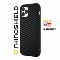 Coque Rhinoshield SolidSuit fibre de carbone iPhone 11 Pro Max