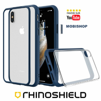 Coque Rhinoshield Modulaire Mod NX™ bleu iPhone XS Max