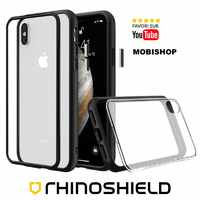 Coque Rhinoshield Modulaire Mod NX™ noir iPhone XS Max
