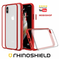Coque Rhinoshield Modulaire Mod NX™ rouge iPhone XS Max