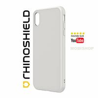 Coque Rhinoshield SolidSuit Classic blanche iPhone XS Max