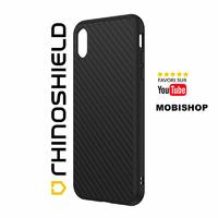 Coque Rhinoshield Solidsuit fibre de carbone iPhone XS Max