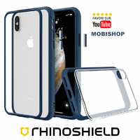 Coque Rhinoshield Modulaire Mod NX™ bleu iPhone X XS