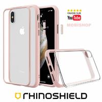Coque Rhinoshield Modulaire Mod NX™ rose iPhone X XS