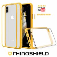 Coque Rhinoshield Modulaire Mod NX™ jaune iPhone X XS