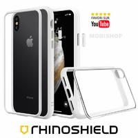Coque Rhinoshield Modulaire Mod NX™ blanche iPhone X XS