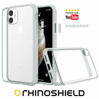 Coque Rhinoshield Modulaire Mod NX™ gris platine iPhone 11