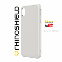 Coque Rhinoshield SolidSuit Classic blanche iPhone XR