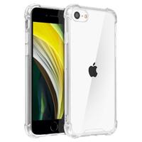 Coque silicone transparente iPhone 7 8 SE 2020