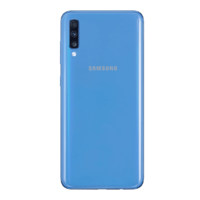 Remplacement vitre arrière Samsung Galaxy A70 A705F bleu