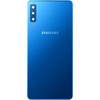 Remplacement vitre arrière Samsung Galaxy A7 2018 A750F bleu