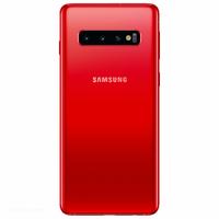 Remplacement vitre arrière Samsung Galaxy S10+ G975F rouge