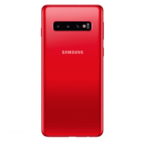 Remplacement vitre arrière Samsung Galaxy S10 G973F rouge