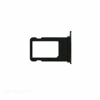 Tiroir sim iPhone 7 Plus noir de jais