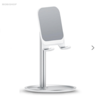 Support smartphone tablette bureau table Usams argent