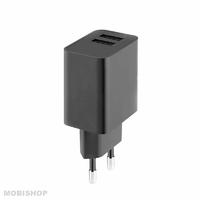 Secteur FAIRPLAY Positano Chargeur 2 USB Noir