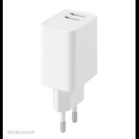 Secteur FAIRPLAY Positano Chargeur 2 USB Blanc