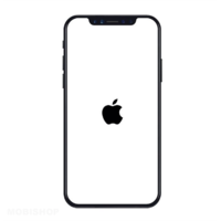 iPhone XR bloqué logo Apple